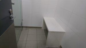シドニー空港のシャワールーム2