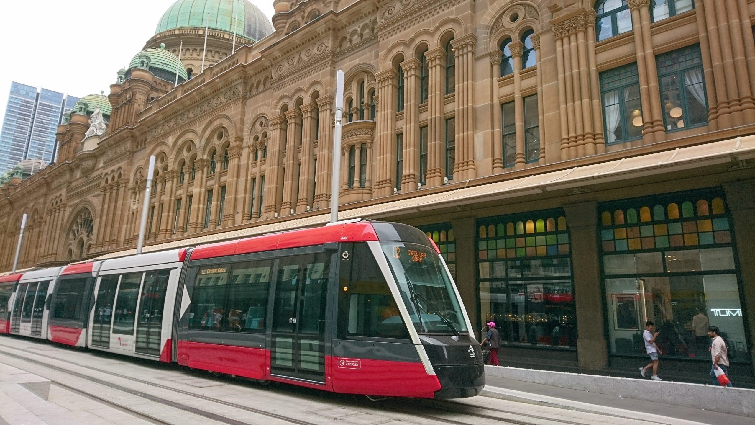 シドニーのライトレール