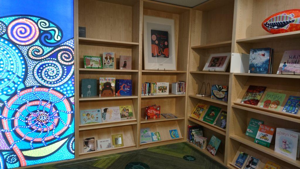 NSW州立図書館のキッズコーナー